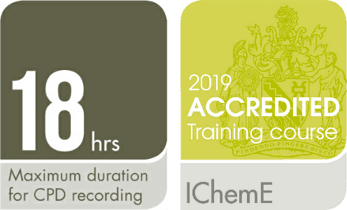 Award from IChemE of 18 CPD Hours